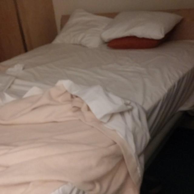 Bedtijd! We zijn lekker moe. Hier slapen we de komende 3 nachten. Tot morgen.