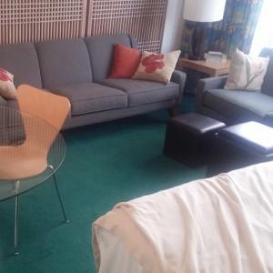 Nog een foto van onze kamer op Ohau.