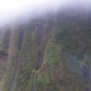 Tot slot nog een foto van in een oude krater. Fascinerend! Prachtige helikoptertour al met al.