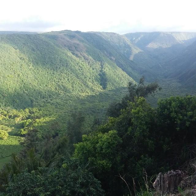 Daarna verder naar het noorden gereden voor het uitzicht op deze vallei