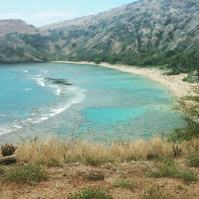 De volgende morgen snorkelen in Hanauma Bay