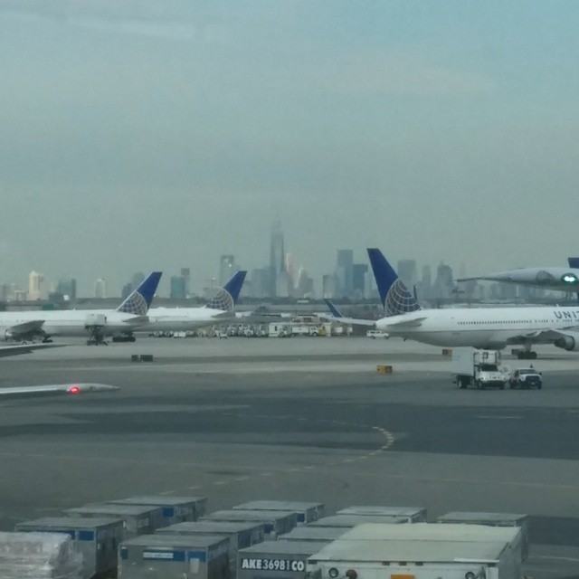 En een foto van downtown Manhattan!