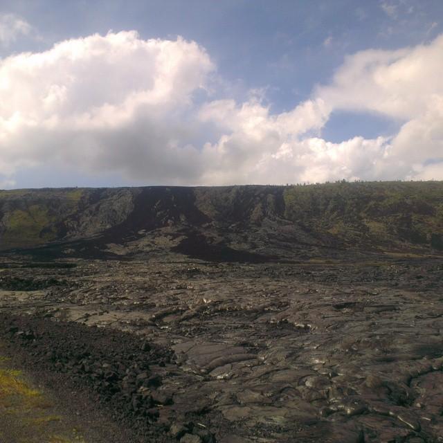 Meer lavastromen