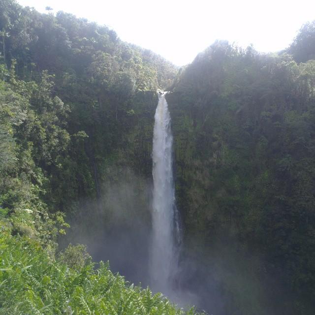 Super hoge waterval
