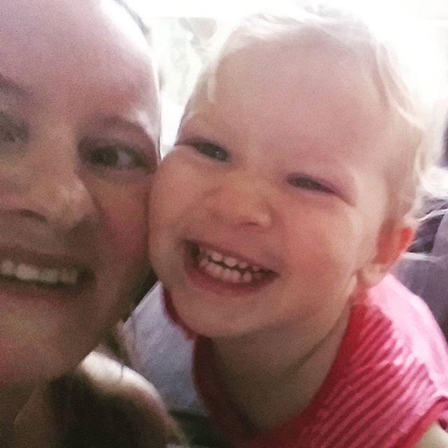 Selfie met mama