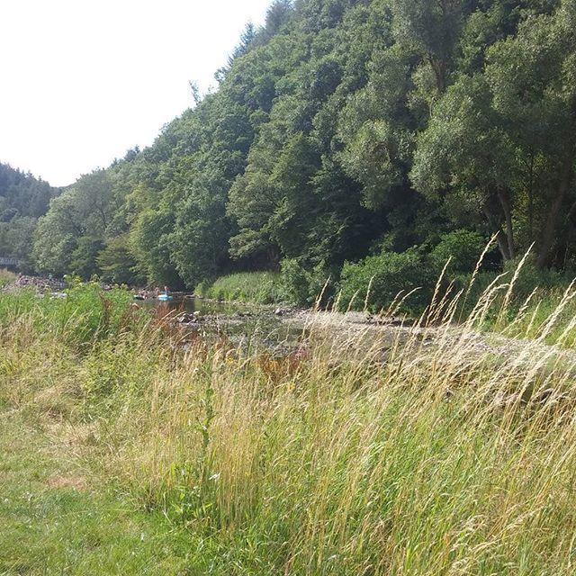 Uitzicht vanaf onze camping plaats