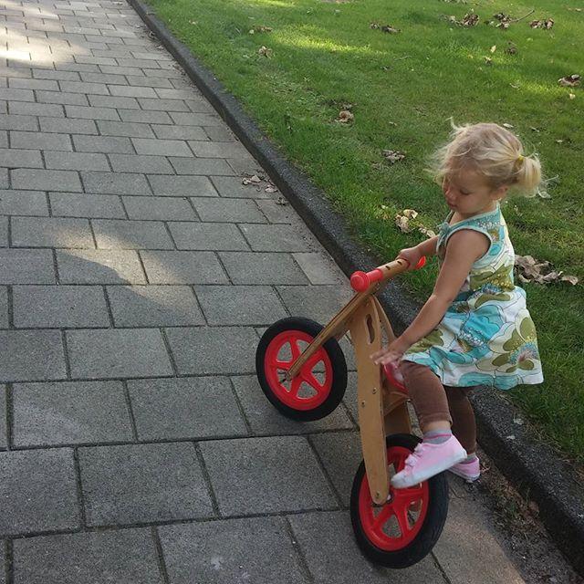 Mama, ik wil ook op mijn eigen fiets!