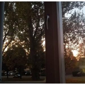 Wakker worden met zonsopgang, het kan slechter.