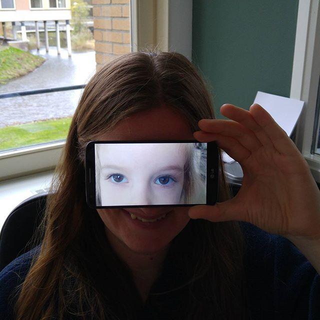 Mama met Lyses ogen