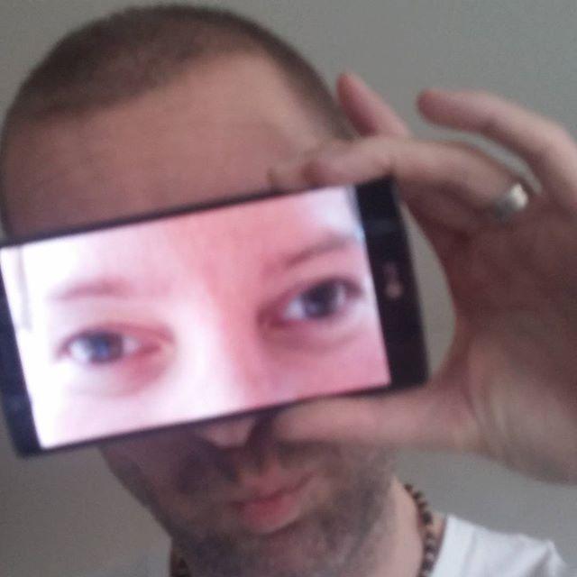 Papa met mama's ogen