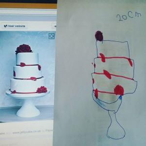 Verjaardagstaart ontwerpen met Lyse
