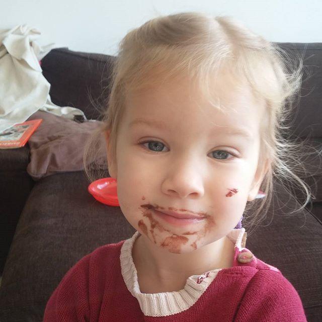 Nova heeft goed geholpen met de brownie bakken