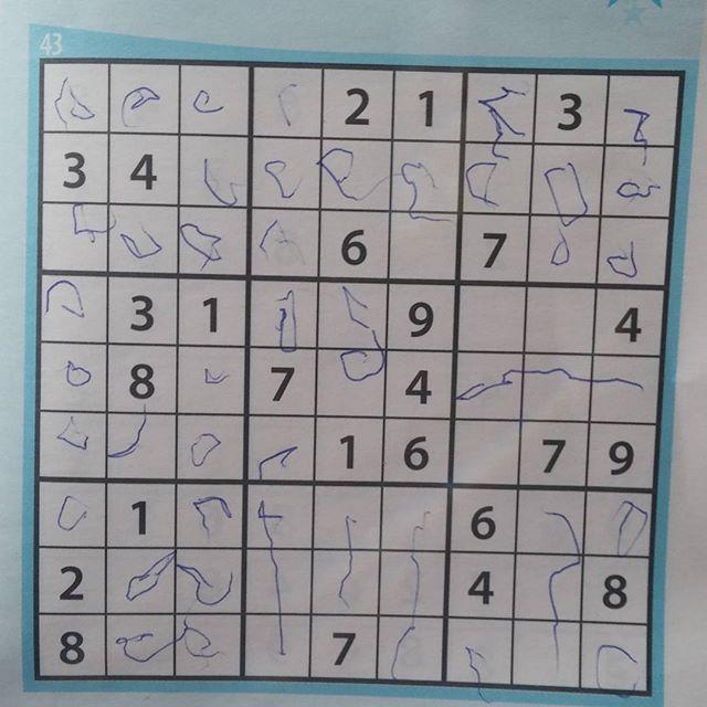 Nova maakt een sudoku