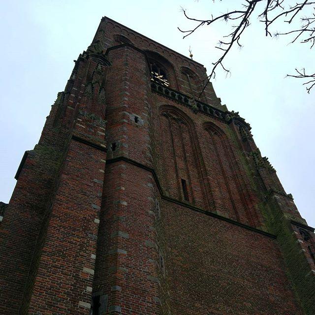 Daarna nog de toren beklommen.