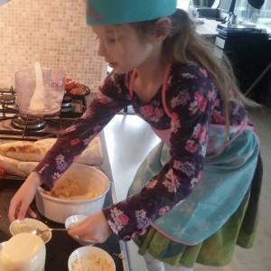 Keukenprinses Lyse maakt helemaal zelf eiersalade en we hebben gesmuld!