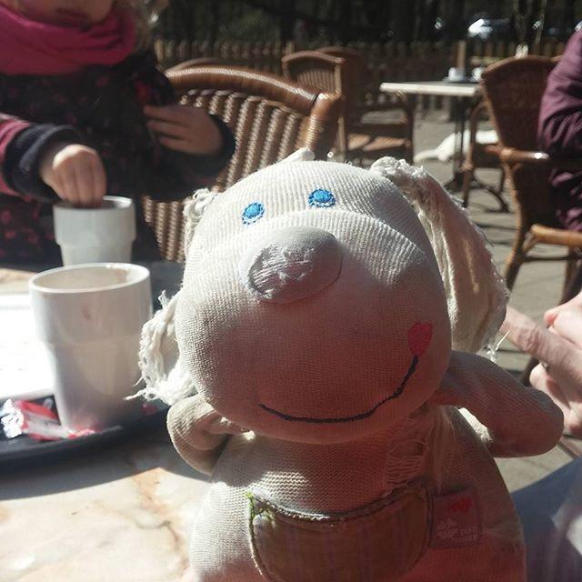 Vandaag waren we bij soestduinen, heerlijk uitgewaaid. Terrasje gepakt in de zon. Topdag.