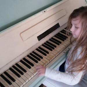 Mooi hè? En de piano ook!