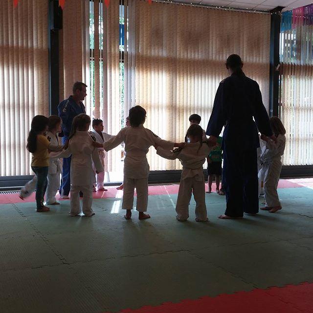Een daarna naar de judo