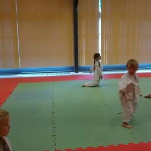 Filmpje: Lyse maakt zich op voor het judo-examen!!