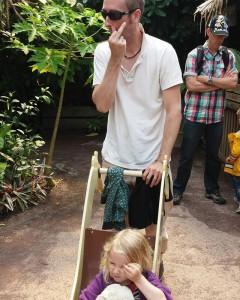 Zo vader, zo dochter…