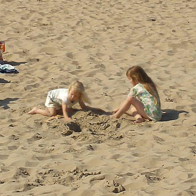 Even een middagje chillen op het strand bij Zandvoort.