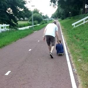 Filmpje : Lyse op het skateboard