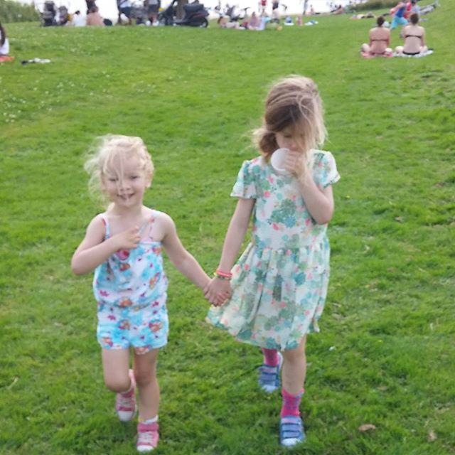 Nog even bij het strandje van Hoorn geweest met Leah