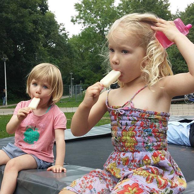 Nova en Ela in het Noorderpark