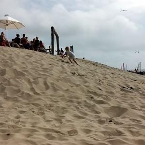 Zandhappen met Nova