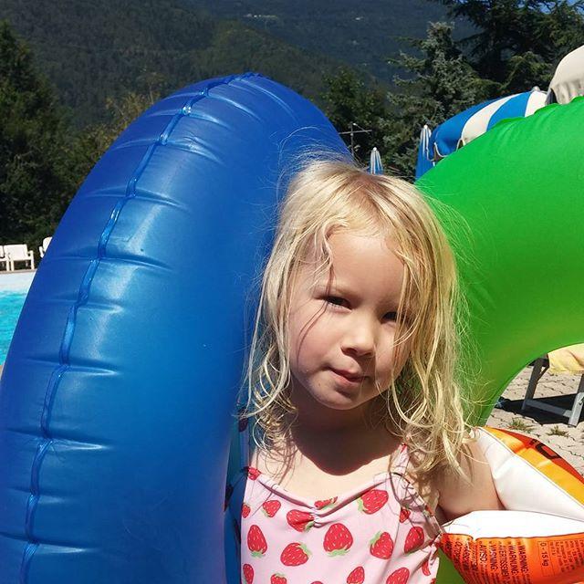 Dagje bij het zwembad