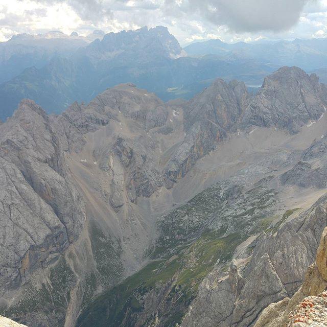 Het uitzicht op het topje is letterlijk adembenemend.
