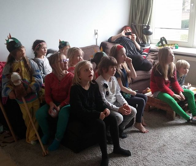 Kinderfeestje van Lyse