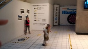 Filmpje : leuke tentoonstelling Ilusions @museon