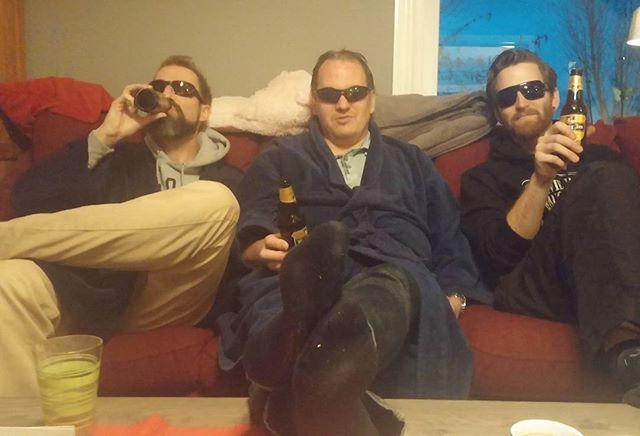 Lebowski kijken met de mannen