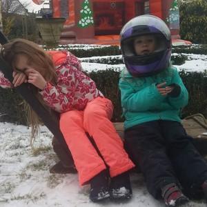 Winter wonderland feestje bij Anieljah