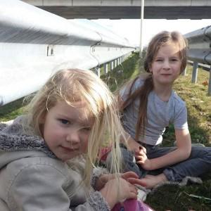 Daar zaten we dan vorige week. Tussen de vangrails langs de A2.