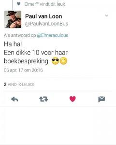 Reactie van Paul van Loon