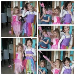 Pre-party fotoshoot met Nova, Lyse en Loulou