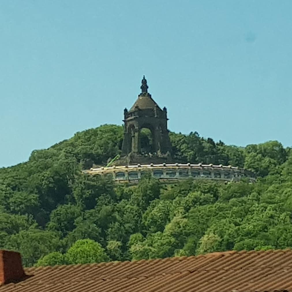 En dit indrukwekkende monument.