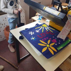 Weer een creatieve dag @modestraat_amsterdam