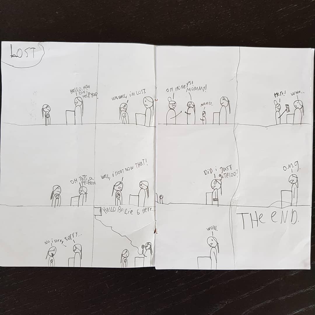 Comic by L