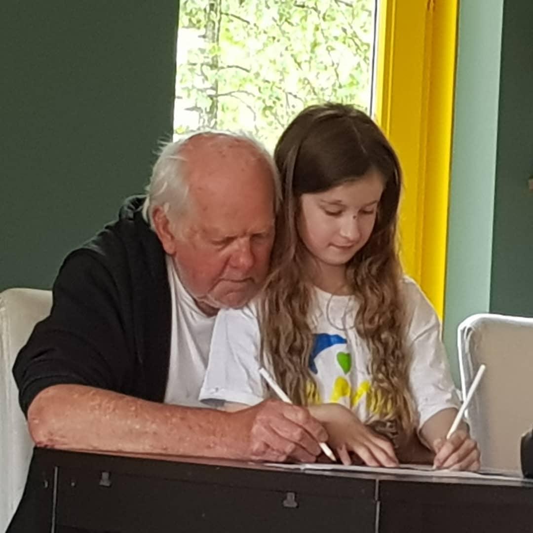 Tekenen met opa