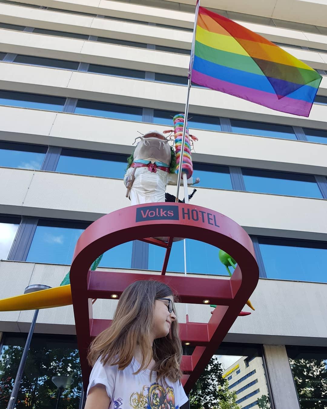 Internationale dag tegen homofobie! #weesjezelf #proudofyou